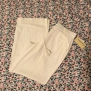 White Cloth Pants